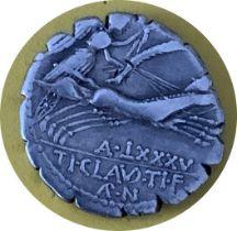 ANCIENT COIN TI. CLAUDIUS