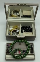 JEWELLERY BOX AND CONTENT