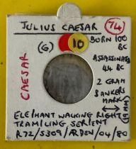 ANCIENT COIN (B4) JULIUS CAESAR
