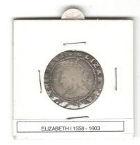 ENGLAND HAMMERED COIN ELIZABETH I (1558-1603)