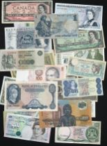 SELECTION OF VARIOUS BANKNOTES