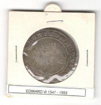 ENGLAND HAMMERED COIN EDWARD VI (1547-1553)