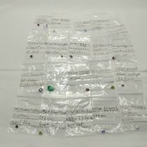 QTY OF VARIOUS GEMSTONES INCL. SAPPHIRE,RUBY ETC