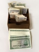 COLLECTION OF WORLD BANK NOTES