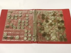 COLLECTION OF COINS - SOME SILVER