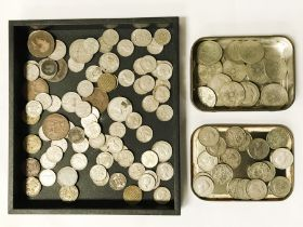COLLECTION OF COINS - SOME SILVER CONTENT