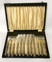 BOXED SILVER HANDLED CUTLERY