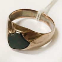 GOLD & OPAL GENTS RING SIZE M
