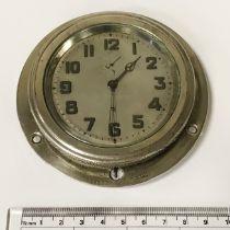 SWISS BEZEL WIND CAR CLOCK 1920/30S, NEEDS ATTENTION 10 CMS (DIAM)