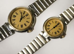 HIS AND HERS DUNHILL WATCHES