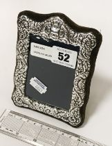 STERLING SILVER PICTURE FRAME - 14CMS X 10CMS