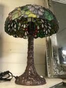 TIFFANY STYLE TABLE LAMP - 37CMS