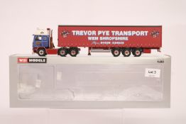 WSI Volvo F112 6x2 Twin Steer + 3 Axle Curtainside Trailer - Trevor Pye