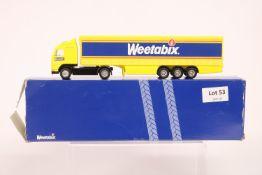 Corgi Volvo Curtainside Trailer - Weetabix