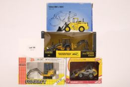 Assorted 4 Assorted Boxed Tractor Models