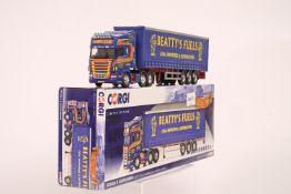 Corgi Scania R Curtainside - Beatty's Fuels