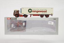 WSI Scania 1 4x2 + 2 Axle Classic Reefer Trailer - Grangewood