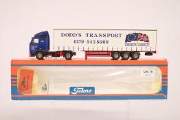 Tekno Volvo FH 12 Curtainside Trailer - Dodd's Transport