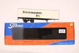 Tekno 2 Axle Box Trailer - Ferrymasters