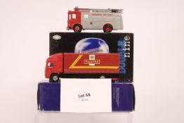 Corgi 2 Assorted Boxed Royal Mail & Fire Engine Models