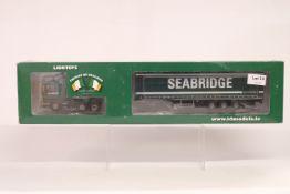 Lion Toys Scania With Curtainside Trailer - Seabridge