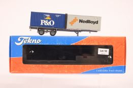 Tekno Classic container trailer & 2 20 FT Containers