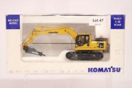 Universal Hobbies Komatsu PC210 With Hammer Drill