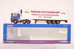 Corgi Scania Topline Fridge Trailer - Trevor Pye Transport