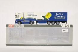 WSI DAF XF 105 SSC 4x2 Reefer Trailer - Kelly Flowers