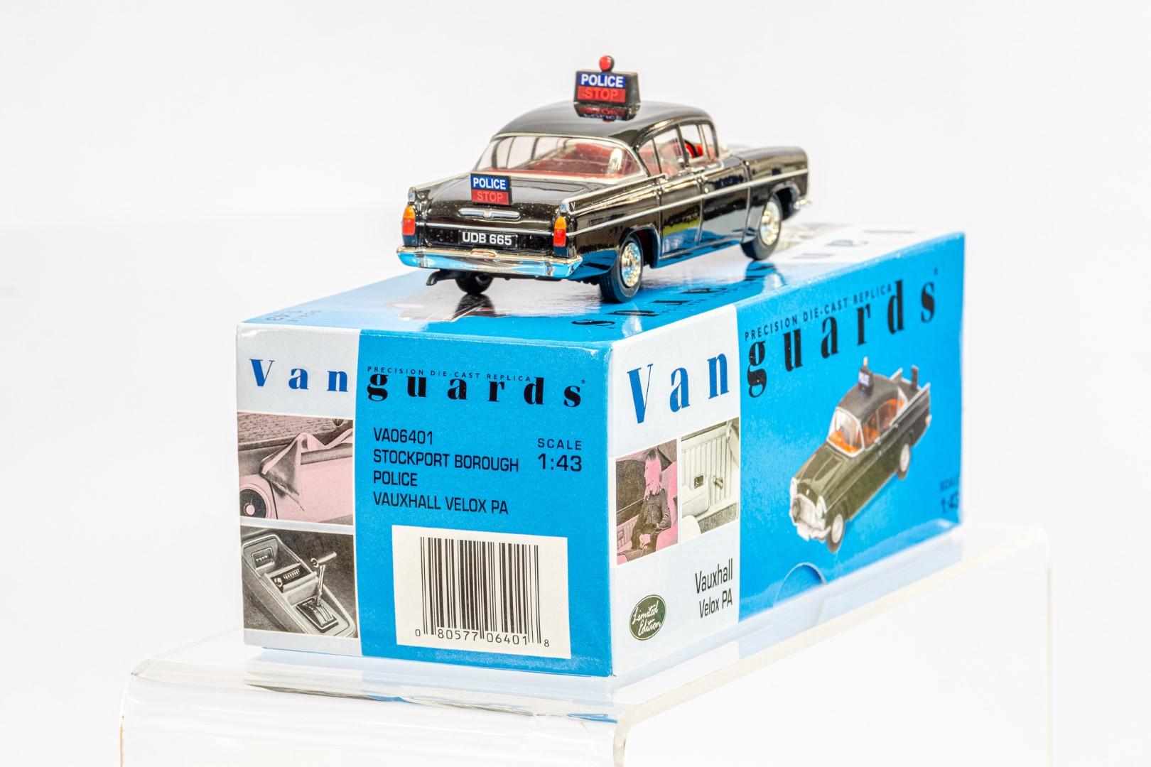 Vanguards Vauxhall Velox PA - Stockport Borough Police - Image 4 of 8