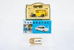 Vanguards & Lledo Wolseley 1800 - City Of London Police / 1950 Morris Z Van - AA