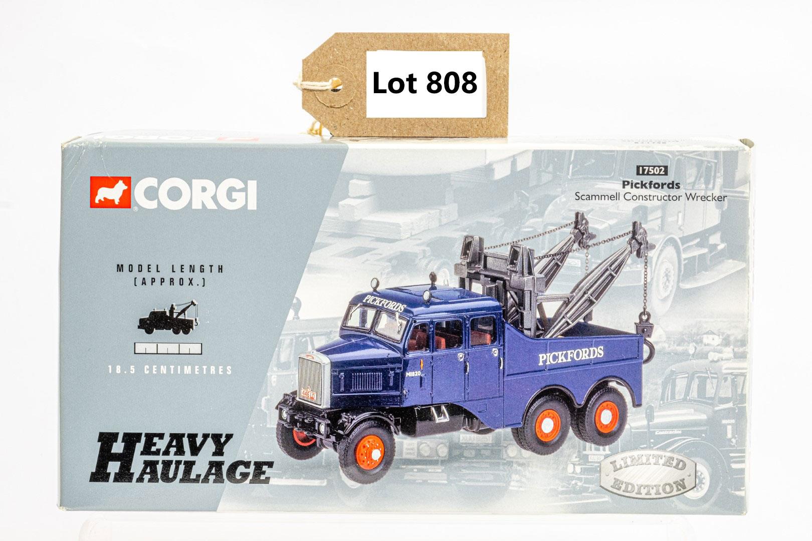 Corgi Pickfords Scammell Constructor Wrecker