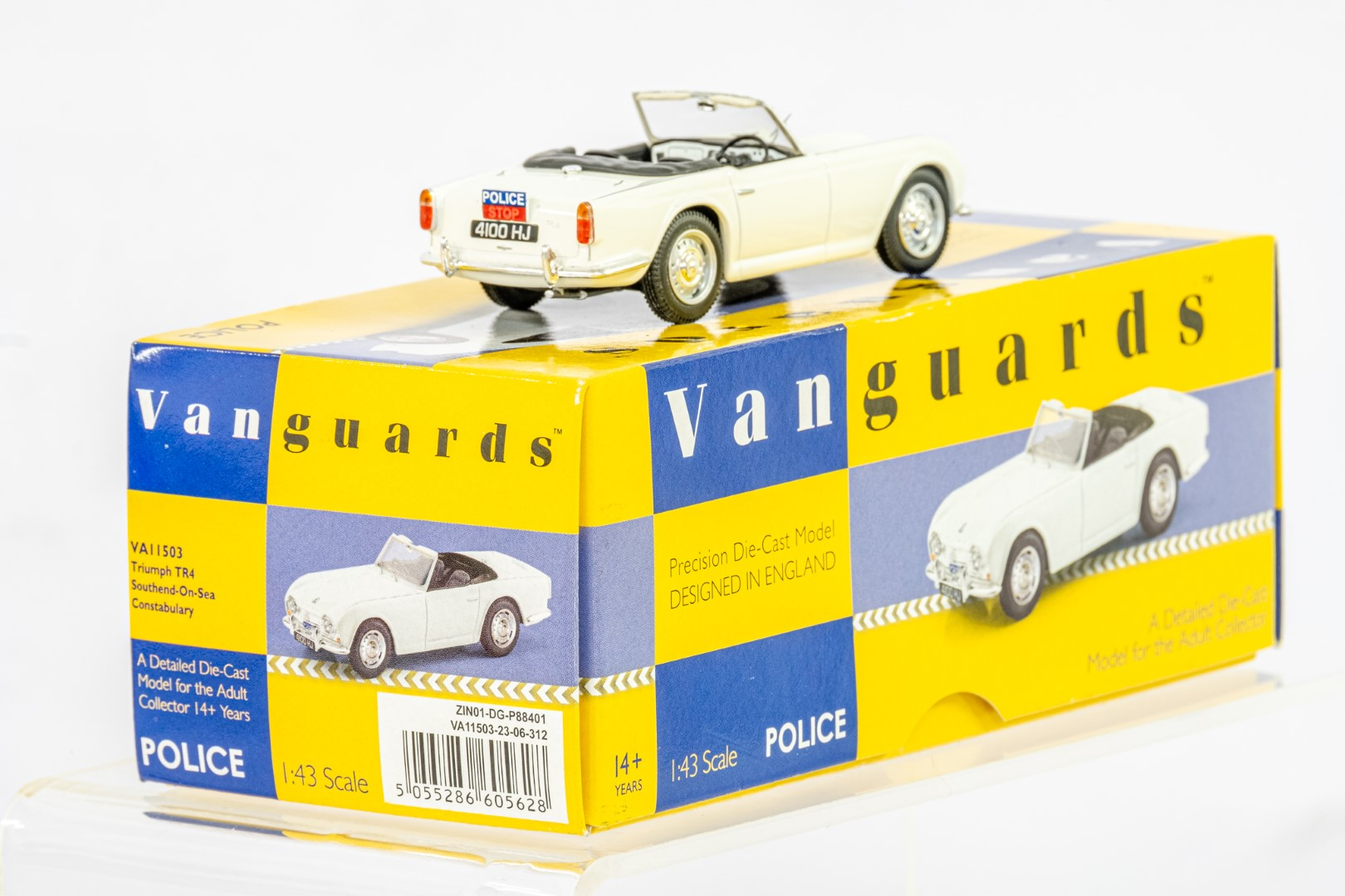 Vanguards Triumph TR4 - Southend On Sea Constabulary - Image 4 of 6