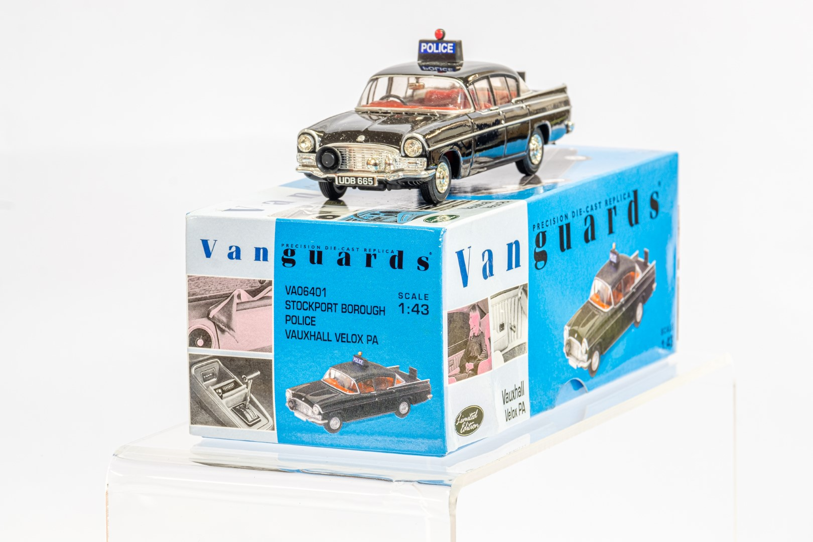 Vanguards Vauxhall Velox PA - Stockport Borough Police - Image 3 of 8