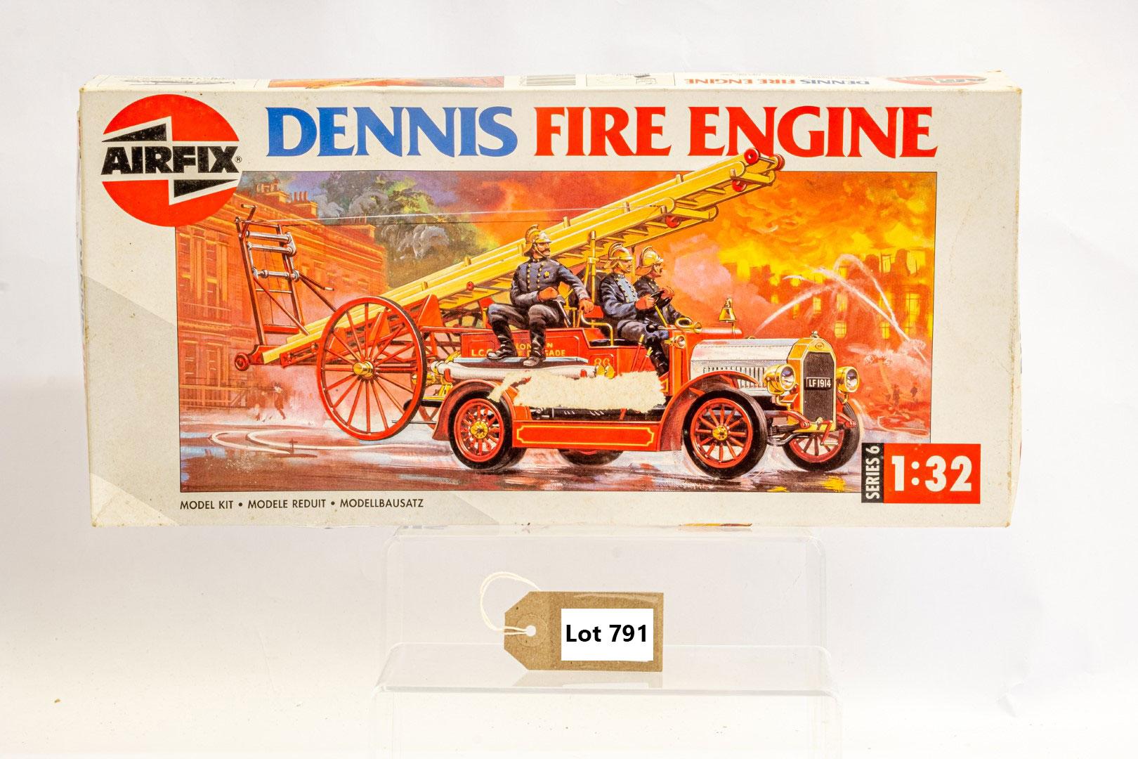 Airfix Dennis Fire Engine