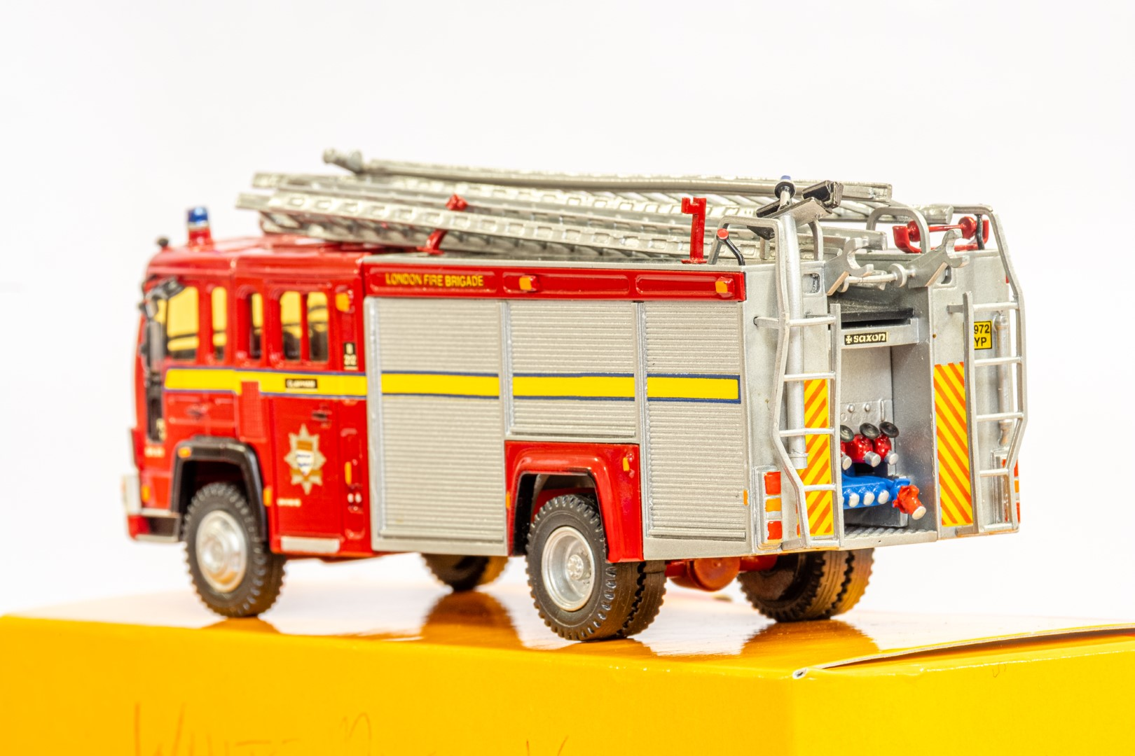 Fire Brigade Models Volvo Fire Engine - Clapham Fire Brigade - In Wrong Box - Image 5 of 7