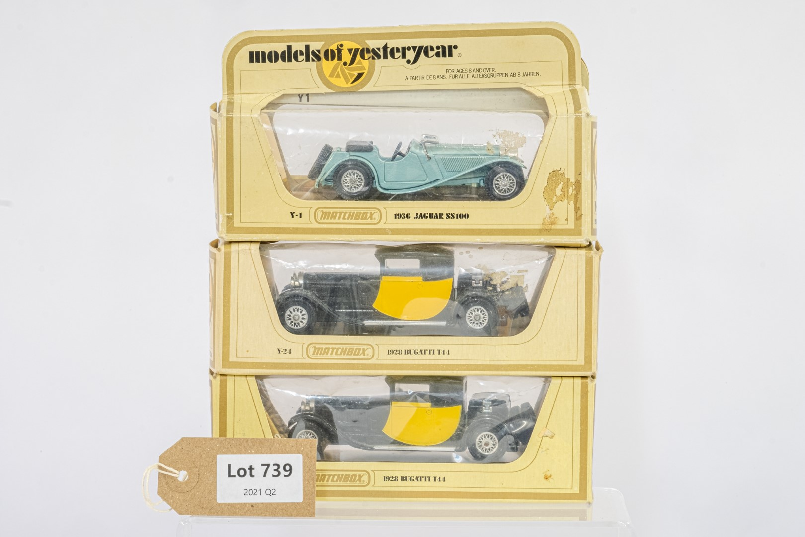 Matchbox 3 x Models of Yesteryear cars -