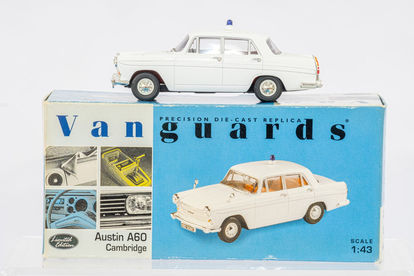 Vanguards 2 Boxed Car Models - Austin A60 Cambridge & Ford Zephyr - - Image 2 of 3
