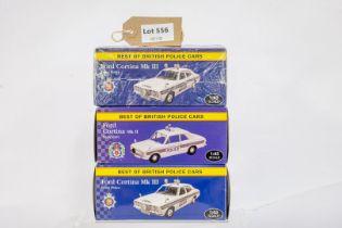 Atlas 3 Boxed Car Models -