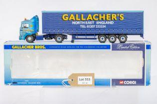 Corgi MAN Curtainside - Gallacher Bros -