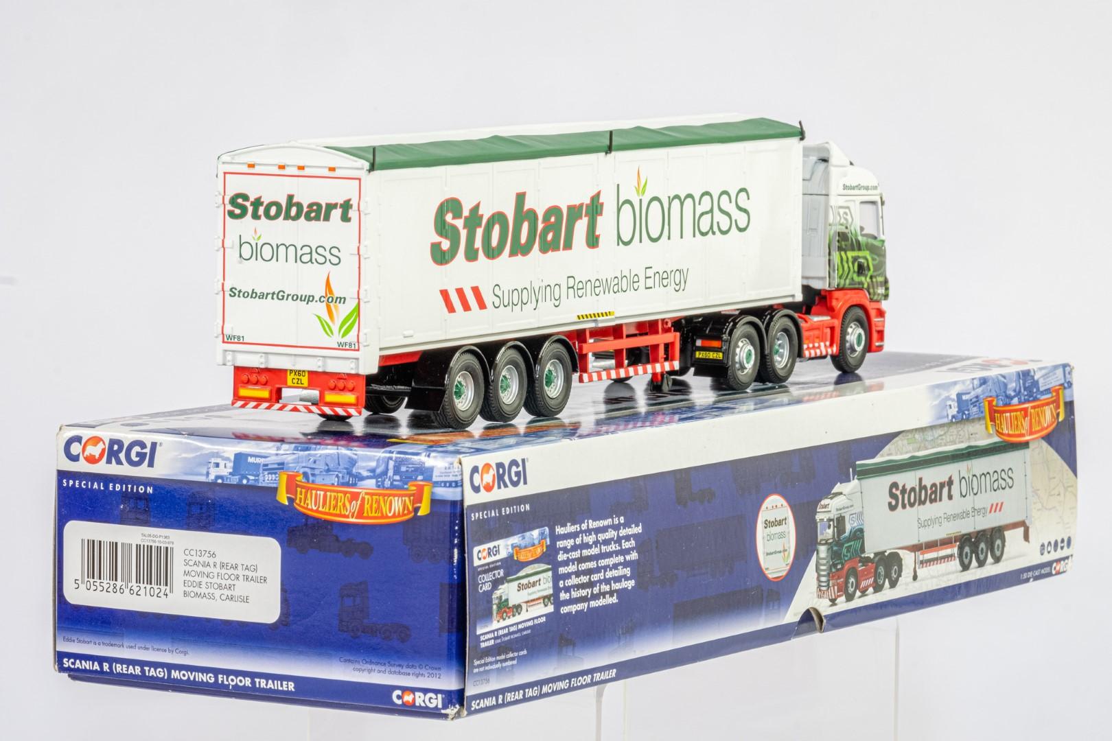 Corgi Scania R Moving Floor Trailer - Eddie Stobart Biomass - - Image 3 of 3