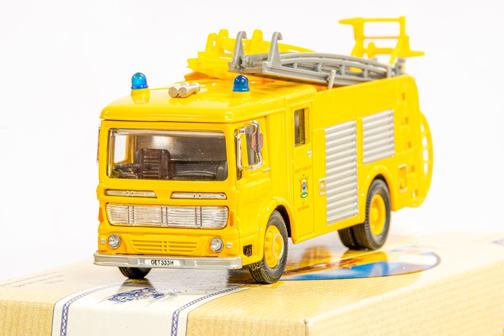 Corgi AEC Pump Escape - Rotherham Fire Brigade - Image 5 of 8