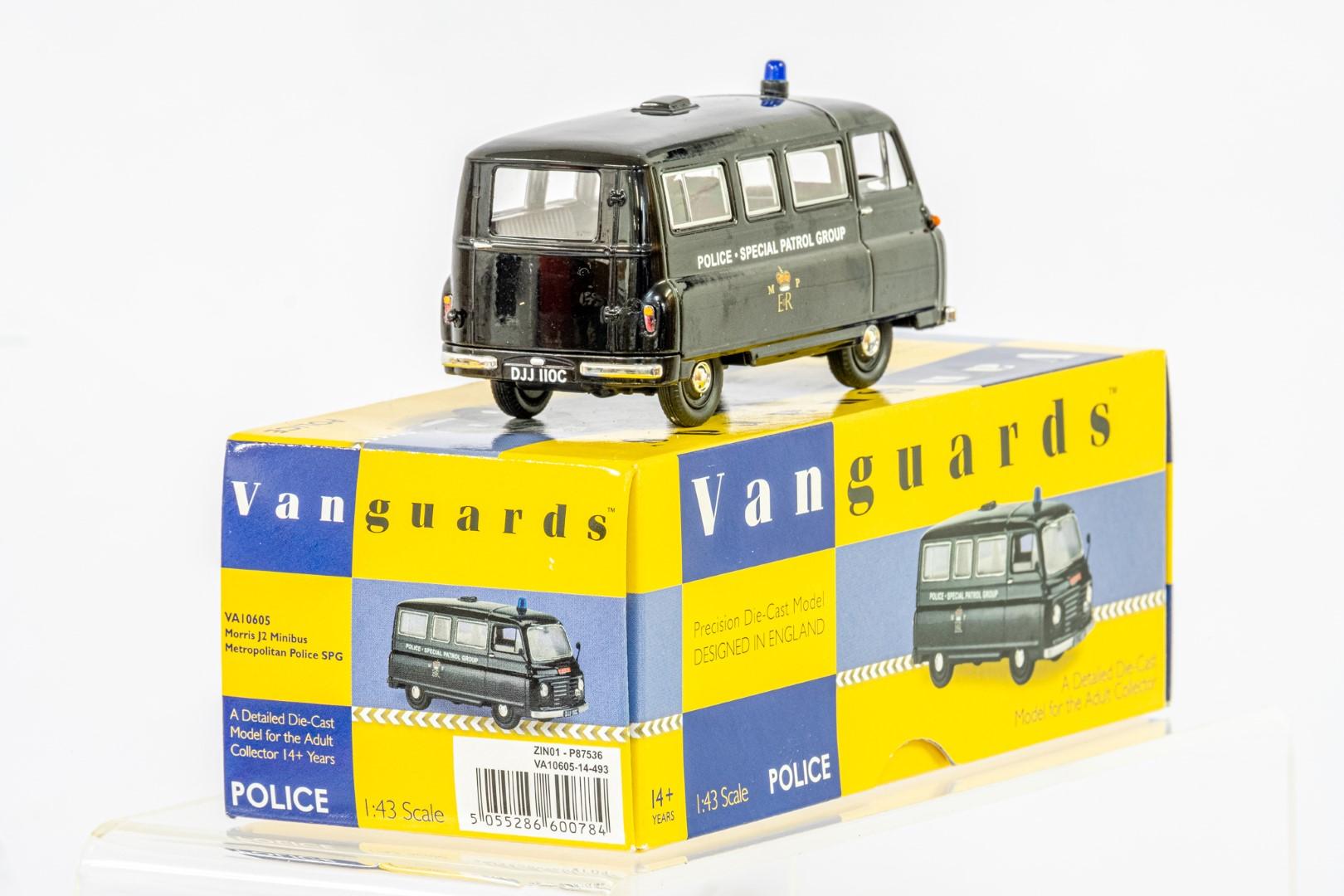 Vanguards Morris J2 Minibus - Metropolitan Police SPG - Image 4 of 6
