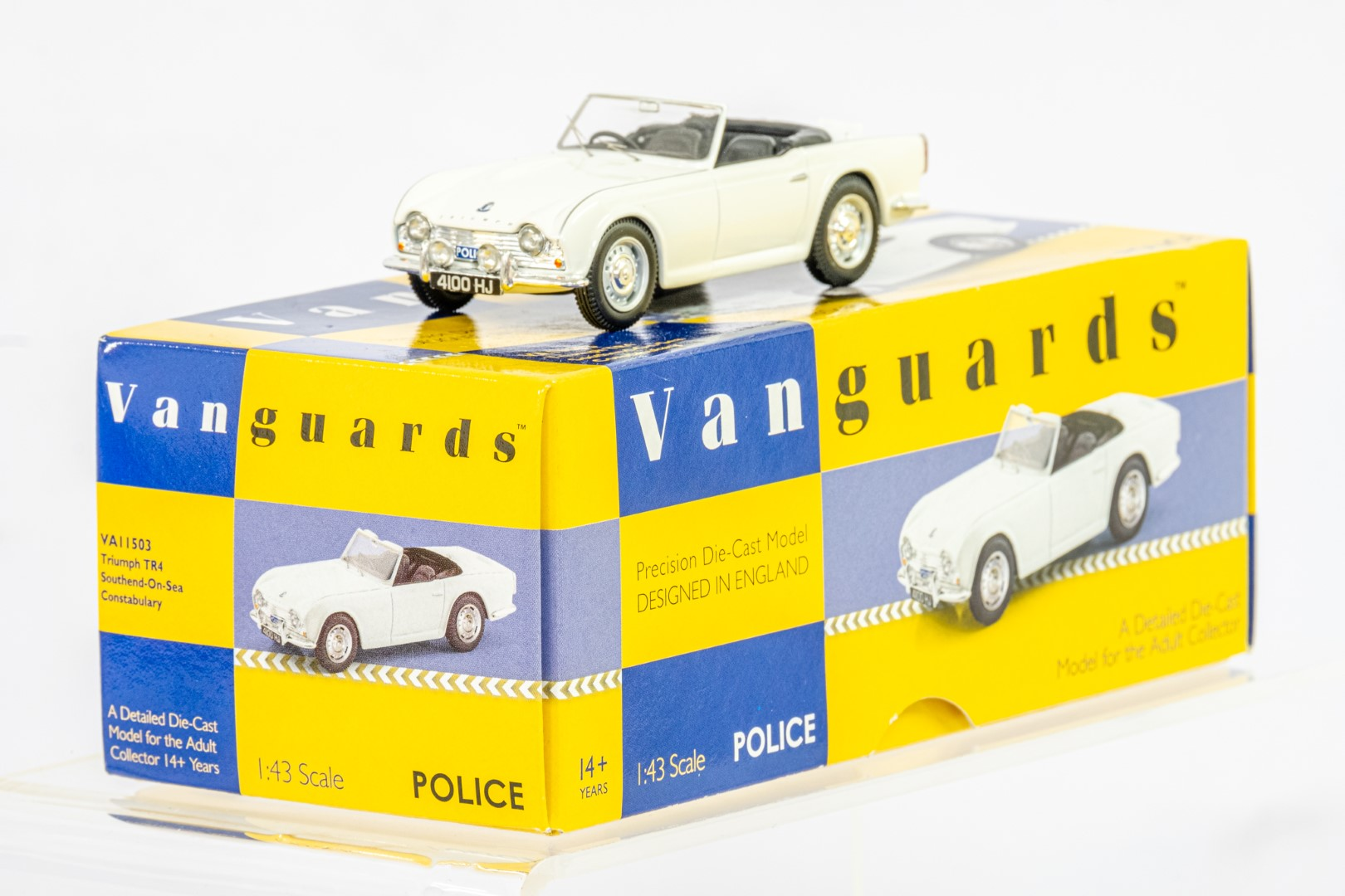 Vanguards Triumph TR4 - Southend On Sea Constabulary - Image 3 of 6