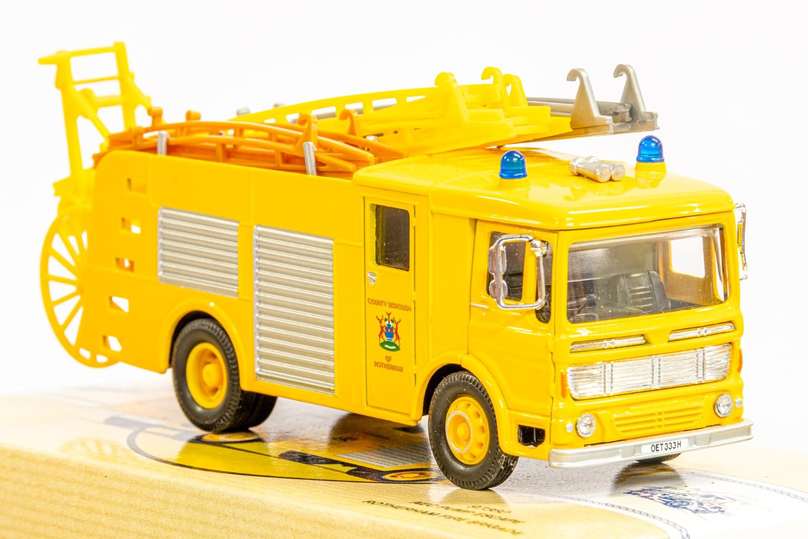 Corgi AEC Pump Escape - Rotherham Fire Brigade - Image 8 of 8