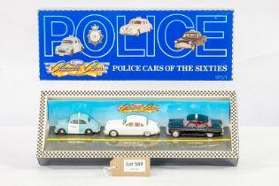Corgi Police Cars Of The 60's -