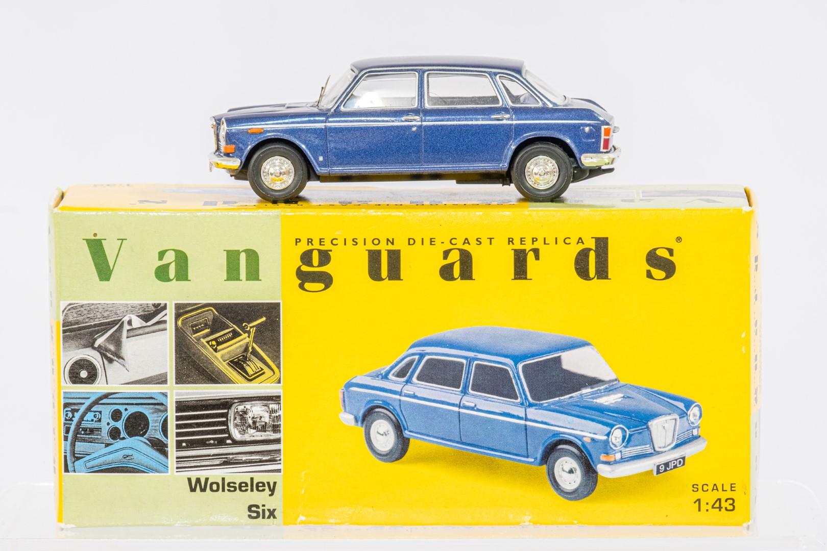 Vanguards Ford Cortina MkIV 2.0 Ghia Roman Bronze - Wolseley Six - Cosmic Blue Metallic - - Image 2 of 3