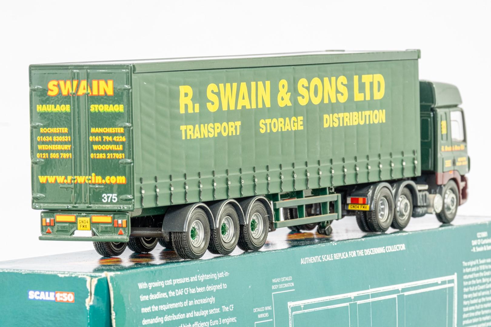 Corgi DAF CF Curtainside - R Swain & Son Ltd - - Image 5 of 5