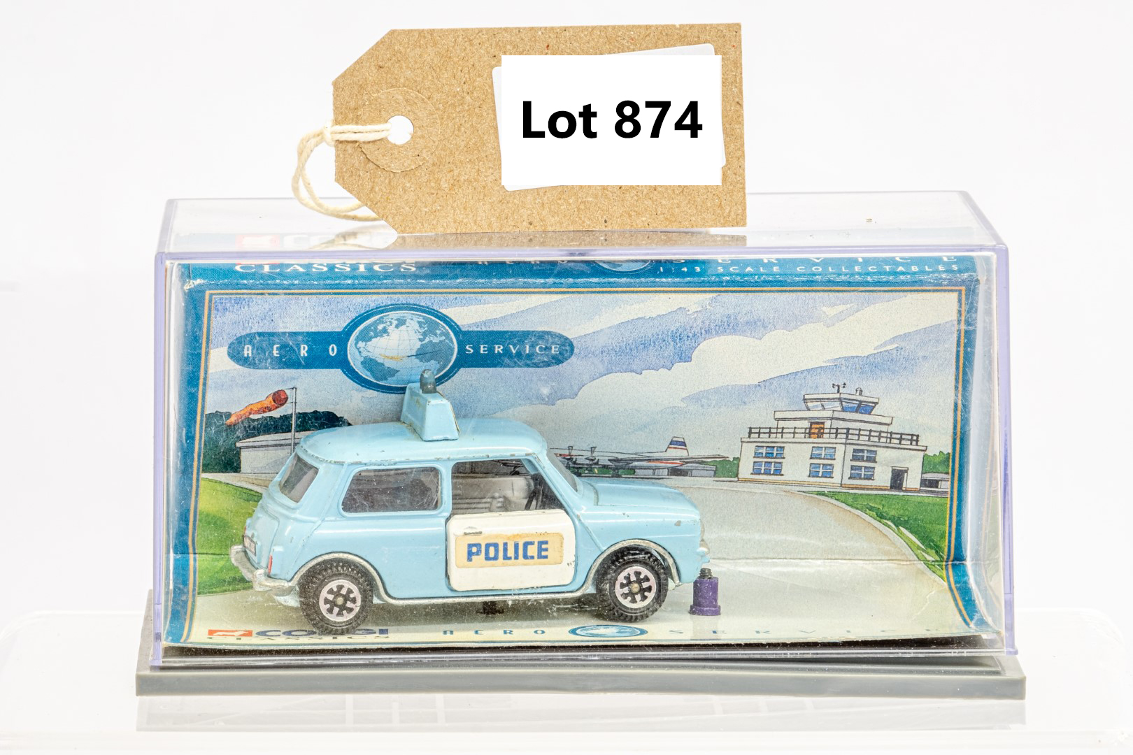 Dinky Mini Clubman Police Car - In Wrong Box