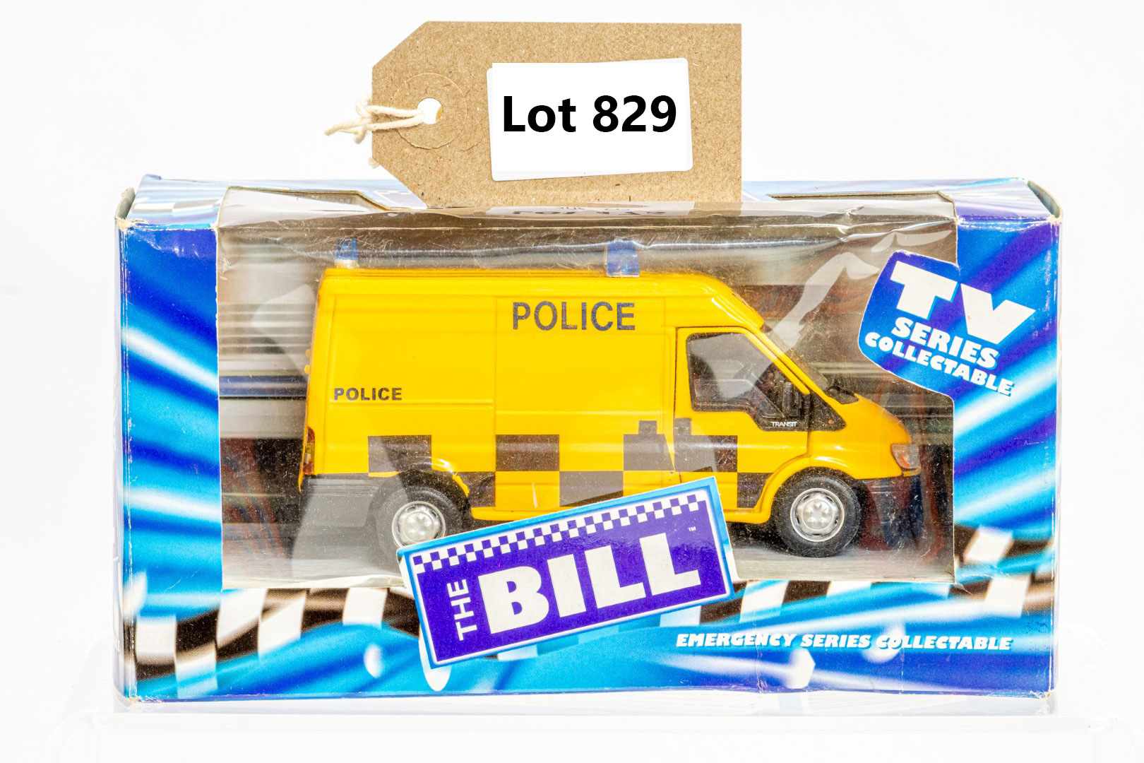 Richmon Toys Ford Transit Police Van - The Bill